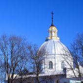 Chiesa cattolica a daugavpils, lettonia — Foto Stock