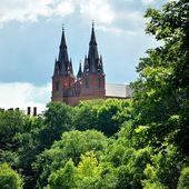 天主教教会在泽克,拉脱维亚 — 图库照片