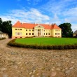 Stock Photo: Old mansion of former Russiempire. Durbes castle, Latvia