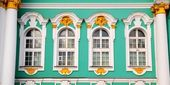 Winter Palace (Hermitage) close-up — ストック写真