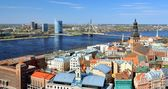 General view on Riga, Latvia — Stock Photo