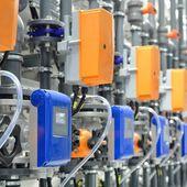 Industrielle heizungsraum — Stockfoto