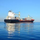Kontener statek — Zdjęcie stockowe