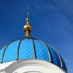 White Orthodox church in Elgava — Stock Photo #50522545