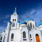 White Orthodox church in Elgava, Latvia — Stock Photo #50523019