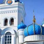 White Orthodox church in Elgava, Latvia — Stock Photo #50523225