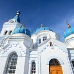 White Orthodox church in Elgava, Latvia — Stock Photo #50523259
