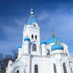White Orthodox church in Elgava, Latvia — Stock Photo #50523751