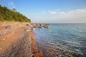 Riva del mar baltico — Foto Stock