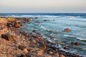 Rivage de la mer baltique — Photo