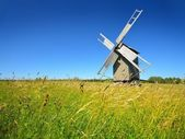 Windmill on Hiumaa island — Stock Photo