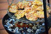 Grilled caucasus barbecue — Stock Photo