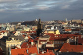 Prague with the Old Town Hall Tower — Stock Photo
