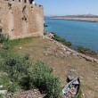 Постер, плакат: Marokko Rabat Gorodskaya medina wall at the river Bou Regreg