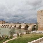 Cordova. Roman bridge over the Guadalquivir. — Stock Photo