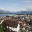 Lucerne. Panorama of the city. — Stock Photo #43644055