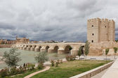 Cordova. Roman bridge over the Guadalquivir. — Stock Photo