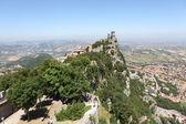 Castles of San Marino. — Stock Photo