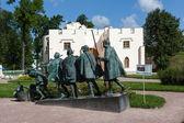 """Tsarskoye Selo. Russia. Sculpture """"The Blind"""". — Stock Photo"""