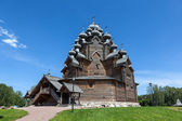 St. Petersburg. Russia. Wooden Church of the Intercession. — Stock Photo