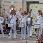 Постер, плакат: Pavlovsk Russia Show drummers Drum time