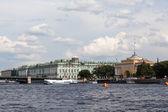 In the Neva River. St. Petersburg. — Stock Photo