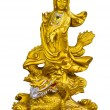 Golden Guan-Yin — Stock Photo
