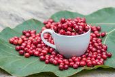 Berry Coffee — Stock Photo