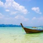 Thai traditional boats on sea. — Stock Photo #44020865