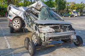 Car accident — Stok fotoğraf