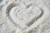 Uncooked jasmine rice — Stock Photo
