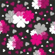 Seamless valentine pattern — Vector de stock #34169077