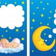 Sweet dream — Stock Vector