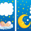 Stock Vector: Sweet dream
