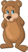 Cartoon Bear. — Stock Vector