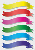 Set of colored banners — Stock Vector