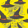 Hat for Halloween — Stockvectorbeeld