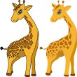 Stock Vector: Giraffe. vector.