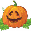 Pumpkin for Halloween — Imagen vectorial
