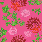 Pattern with beautiful stylized design — Stock Vector