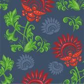 Pattern with beautiful stylized pattern — Stock Vector