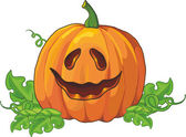 Pumpkin for Halloween — Vector de stock