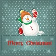 Christmas card — Vector de stock #34681377