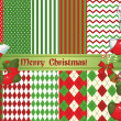 Christmas backgrounds and elements for design — Cтоковый вектор