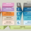infographics options banner. — Grafika wektorowa