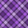 Scottish purple diagonal seamless pattern — Stock Vector