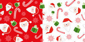 Seamless festive ornament — Stock Vector