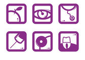 A set of icons — Stock Vector