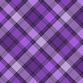 Scottish purple diagonal seamless pattern — Vecteur