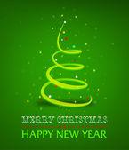 Creative Christmas — Stock Vector